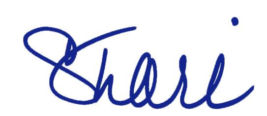 NEW Shari Sig BLUE
